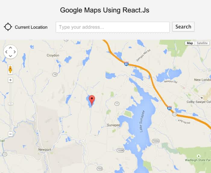 26 Map Examples with ReactJS