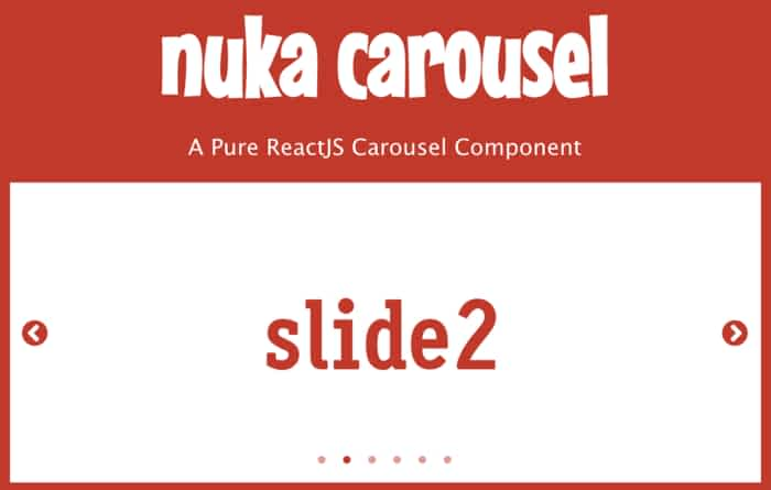 5 Carousel Examples with ReactJS