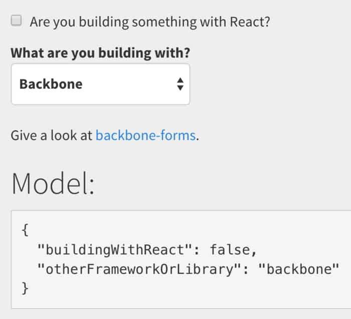 14 formgenerator examples with reactjs