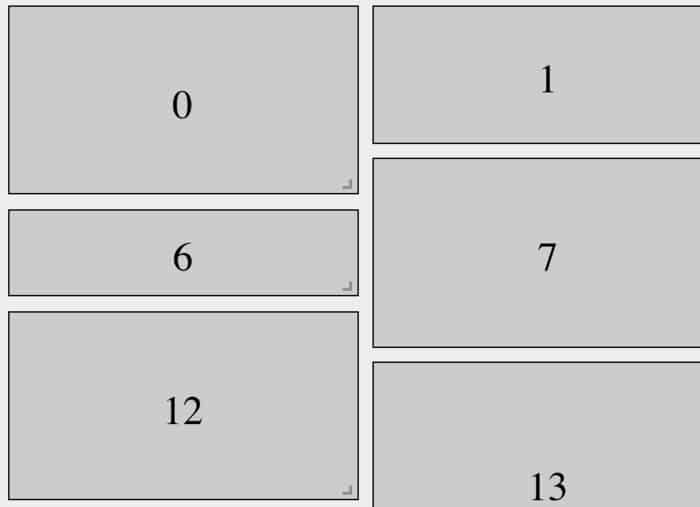 react-grid-layout: A draggable and resizable grid layout