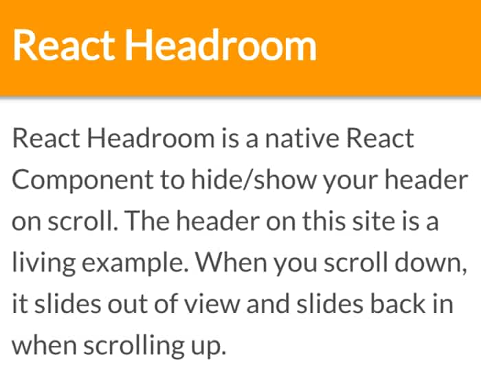 29 Navigation Examples with ReactJS