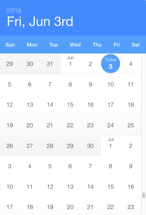 Datepicker Examples With Reactjs