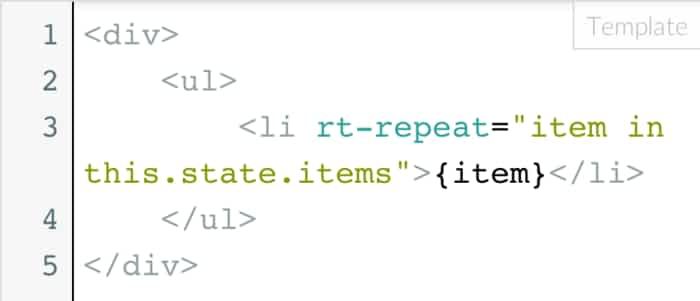 react-templates: Pulls markup into templates with repeats ...