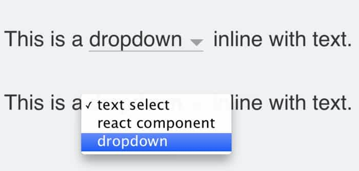 19 Dropdown Examples with ReactJS