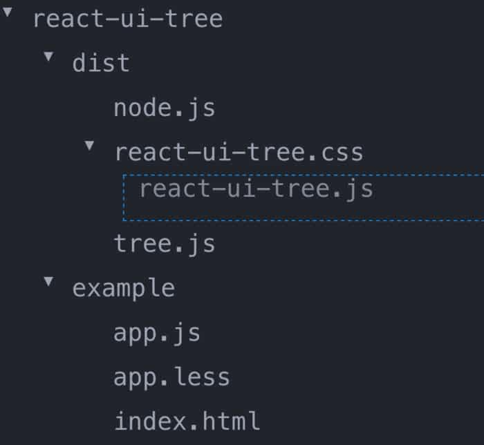 12 TreeView Examples with ReactJS