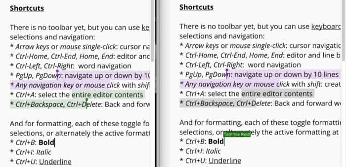 ritzy: Collaborative Google docs-style rich-text editor