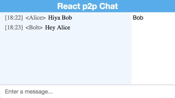 18 Chat Examples with ReactJS